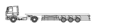 Extra low loader / indoor loader for prefab elements