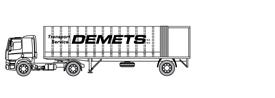 Gesloten oplegger met 10m binnenlengte – Citytrailer