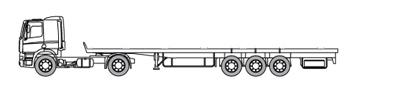 Lowdeck met een laadvermogen tot 29 ton