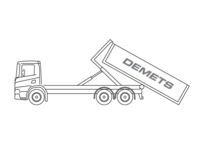 Containervrachtwagen (12T)