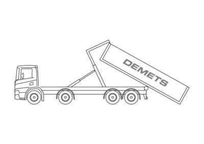 Containervrachtwagen (16T)