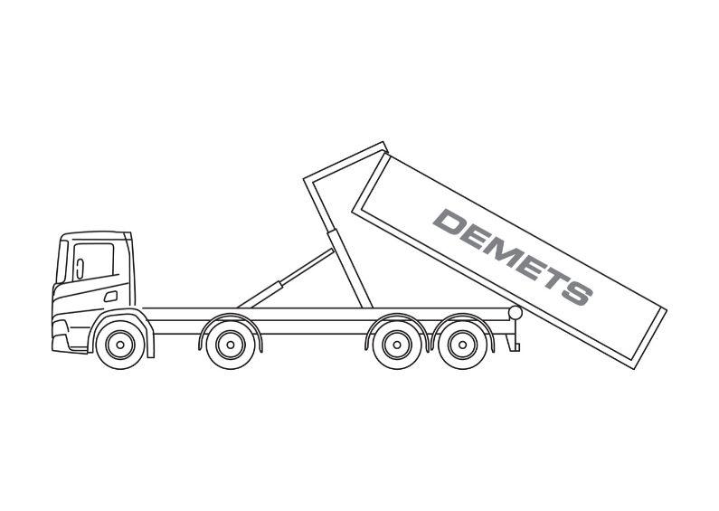 containervrachtwagen 16t