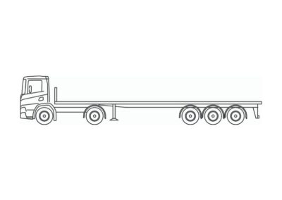 Low deck avec charge utile jusqu'a 29 tonnes
