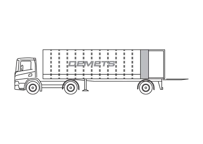 gesloten vrachtwagen 15t