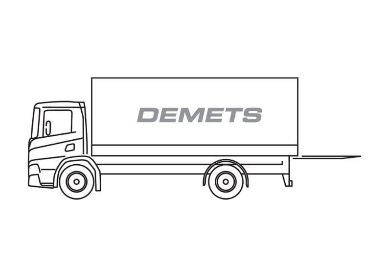 gesloten vrachtwagen 5t