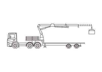 Kraanoplegger (75 T/m)