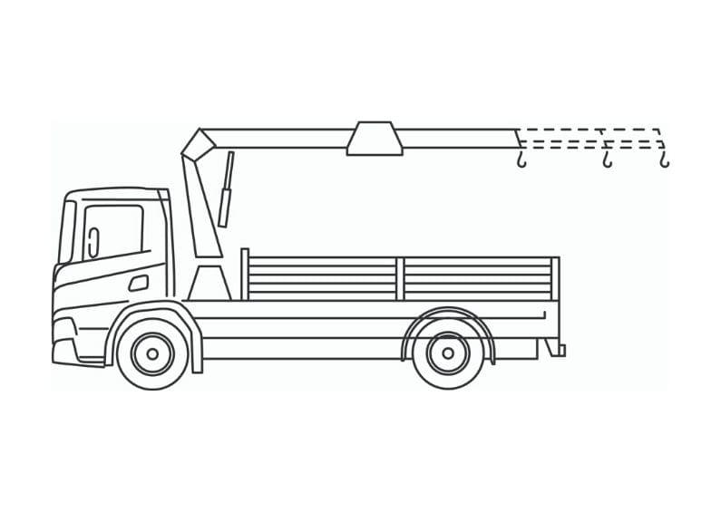 kraanwagen 14 tm