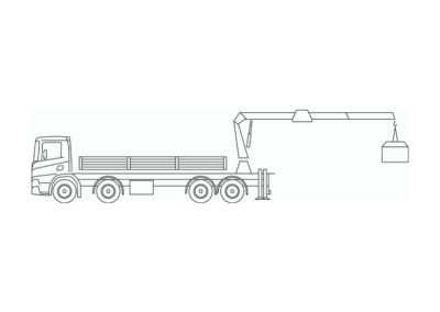 Camion-grue 59 t / m