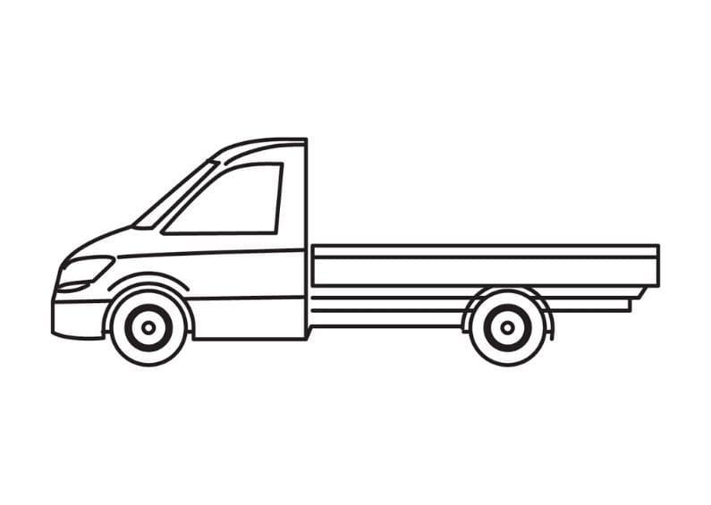 open bestelwagen 1t