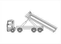 8×4 Container truck