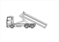 Containervrachtwagen 6×4