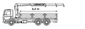 Kraanvrachtwagen 24T/m of 35T/m