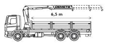 Kraanvrachtwagen 59 T/m