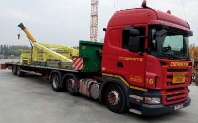 Transport of metal construction