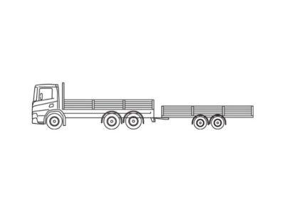Container- en wissellaadbakken (2 x 20′)